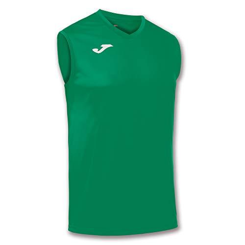 Joma, T–Shirt Combi Smanicata Green Medium, Taglia: M