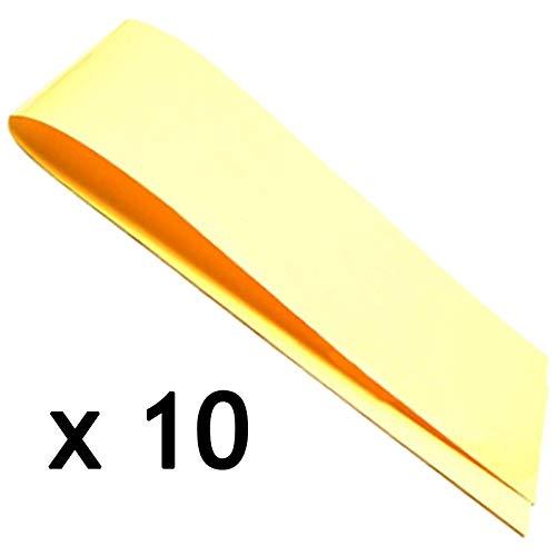 Spares2go - Tira universal anticondensación que absorbe la humedad para lavadora y secadora (60 cm, 10 unidades)