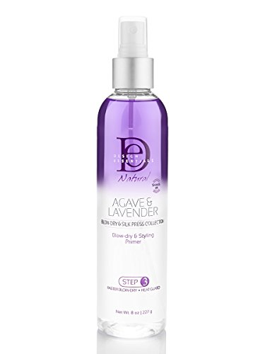 Design Essentials Agave & Lavender Moisturizing Blow Dry and Styling Primer-Blow-Dry & Silk Press Collection - 8oz