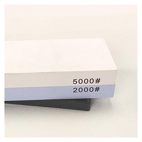 Sistema de afilado de afilado de agua húmeda de piel de afilar para pulir molinillo de pulido de piedra (Color : 2000 5000 grit)