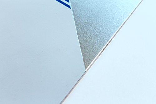 Chapa de aluminio de 1 mm, corte de chapa de aluminio 500 50