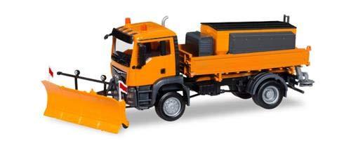 Herpa 308656 Man TGS M E6c 4x4 Winterdienst, farbig
