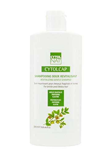 CYTOLCAP Champú Suave Revitalizante 250 ml – Cuidado nutritivo para cabellos frágiles y apagados.