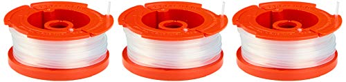CRAFTSMAN String Trimmer Line, 0.065- Inch, 3-Pack Spools (CMZST0653)