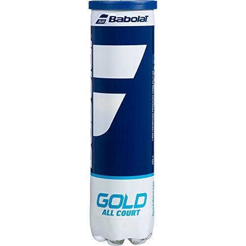 Babolat Tennisbälle, goldfarben, 4 BALL TUBE