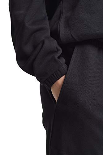 Urban Classics Damen Jumpsuit Ladies Cold Shoulder Terry, Schwarz (Black 00007) - 5