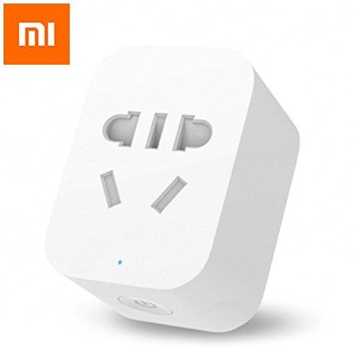 HAPQIN Original Xiaomi Mi Smart WiFi Socket App Temporizador de Control Remoto Power Plug Power Detection - Versión ZigBee