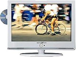 """Reflexion TDD-2440 - Televisor LCD (24"""", 60,9 cm, clase de eficiencia energética C, Full HD, HDMI, sintonizador DVBC/S/T, reproductor de DVD), color blanco: Amazon.es: Electrónica"""