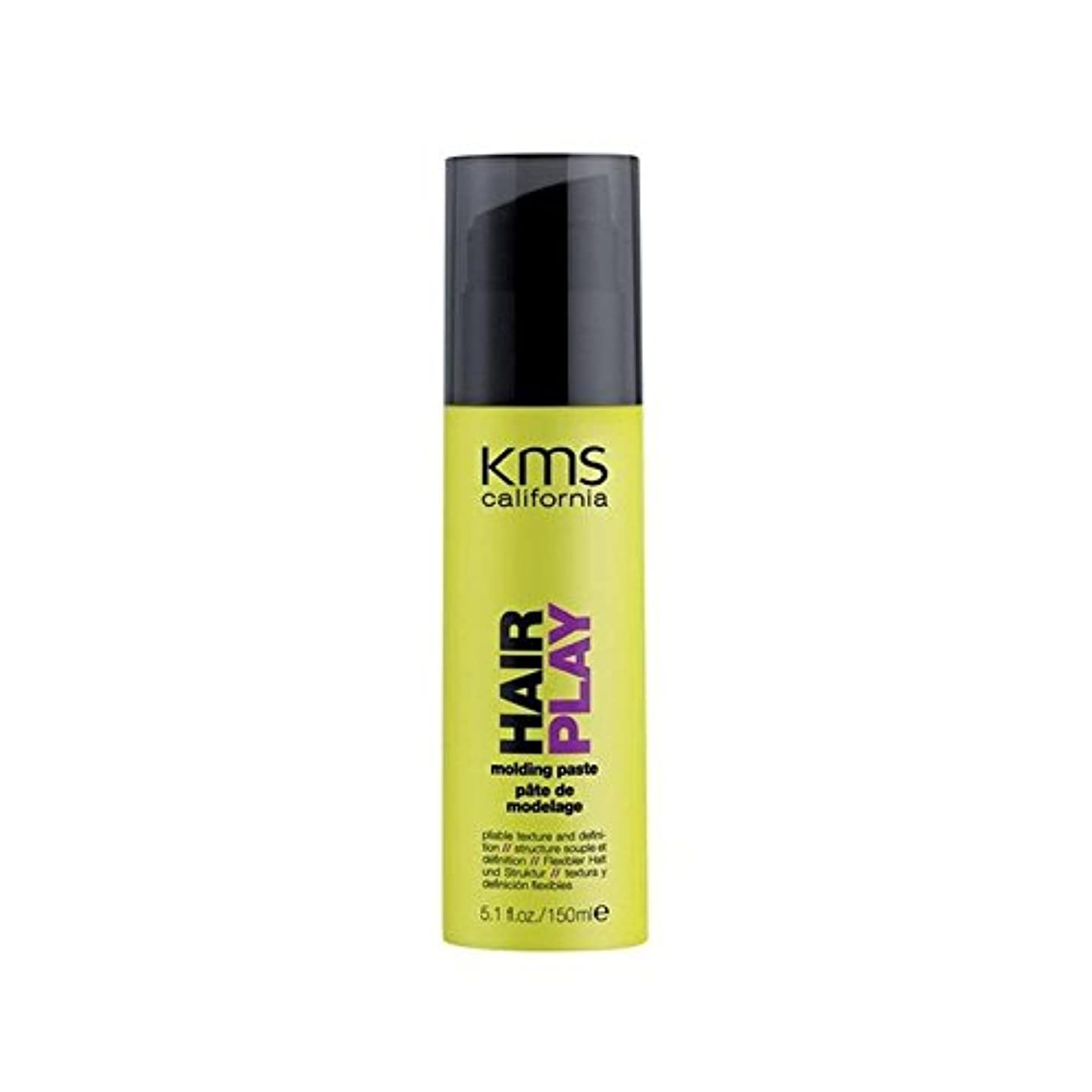 水陸両用ファーザーファージュ機械的にカリフォルニア成形ペースト(150ミリリットル) x2 - Kms California Hairplay Molding Paste (150ml) (Pack of 2) [並行輸入品]