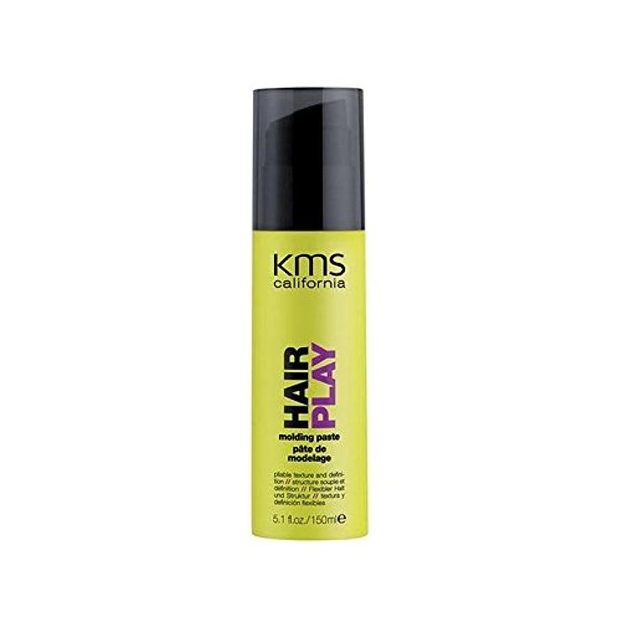 列挙する遺伝的織るKms California Hairplay Molding Paste (150ml) (Pack of 6) - カリフォルニア成形ペースト(150ミリリットル) x6 [並行輸入品]