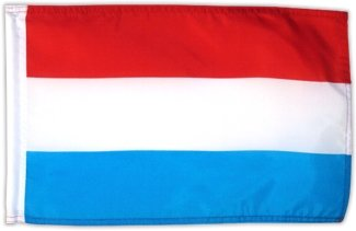 Fahne Flagge Luxemburg 30 x 45 cm