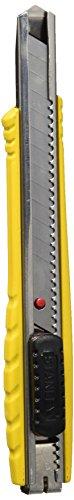 Stanley FatMax Cutter (9 mm Klingenlänge, rutschfester Griff, selbstverriegelnder Klingenschlitten) 0-10-411