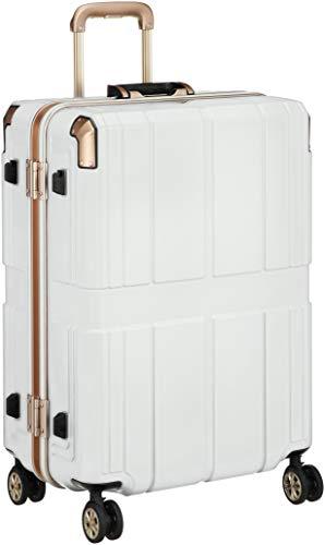 [レジェンドウォーカー] スーツケース 不可 保証付 75L 60 cm 4.6kg ホワイト