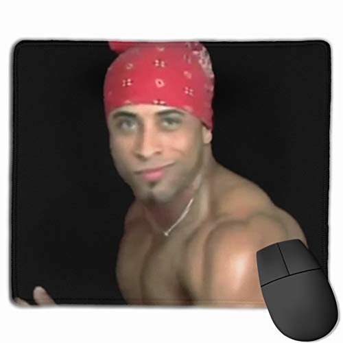 Ricardo Milos Banana Mouse Pad Anti Slip Gaming Mouse Pad with Stitched Edge Computer Pc Mousepad Rubber Base for Office Home