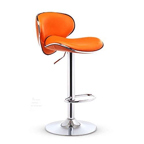 LJBXDCZ NJ barkruk-barstoel, moderne, minimalistische roestvrij stalen staafstoel, Nordic Style-360 graden draaibaar, in hoogte verstelbare bureaustoel, keukeneiland, stoel, barkruk, kruk 3,10
