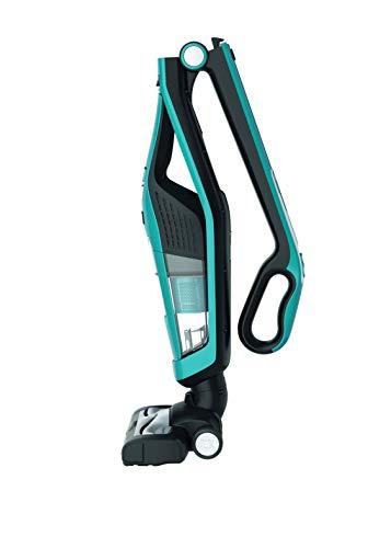 Rowenta RH6751WH Dual Force - Aspiradora 2 en 1 (autonomía de hasta 45 Minutos, Capacidad de 0,6 l, 21,6 V), Color Azul y...