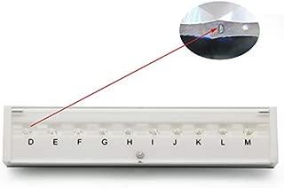 Refer to GIA Standard D-M 10 Color Stone CZ Master Grading Set Laser Stone with New White Kit Box CZ Master Set