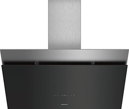Siemens LC98KPQ60 iQ500 Wand-Esse/89.2 cm/schwarz mit Glasschirm