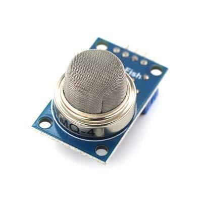 KEKEYANG MQ-2 MQ-3 MQ-4 MQ-5 MQ-6 MQ-7 MQ-8 MQ-9 MQ-135 Detection Smoke methane liquefied Gas Sensor Module FOR Arduino Starter DIY Kit Controller Board (Color : MQ 4)