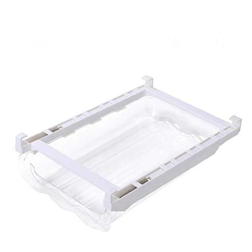 PiniceCore Huevo Ajustable Organizador de la Cocina de Almacenamiento en Rack Caja del congelador de refrigerador del Estante Titular del cajón extraíble para Ahorrar Espacio Organizador de la Cocina