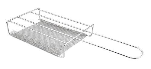 Oztrail - Tostadora de Acero Inoxidable para Camping OCK-TSS-D Stainless Steel Toaster Grill, tostadora de Camping, tostadora Soporte Unico