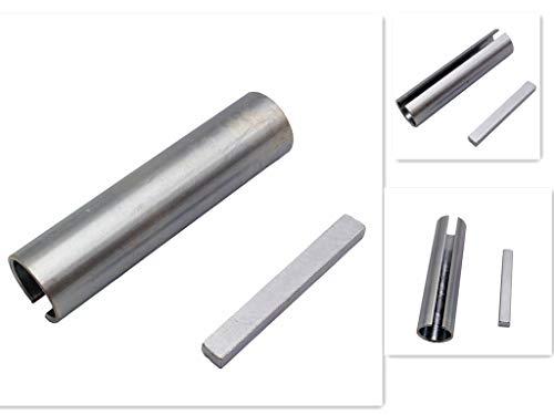 "palart 3/4"" to 7/8"" Shaft Adapter Pulley Bore Reducer Sleeve Bushing & Keystock(4)"
