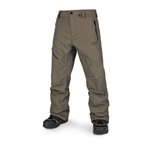 Volcom Men's Lo Gore-tex Articulated Snow Pant, Teak, Large