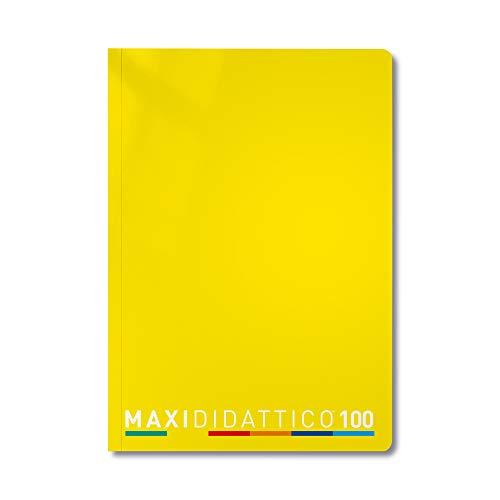 Tecnoteam Maxi Didattico - 5 Quaderni , Giallo, 10mm