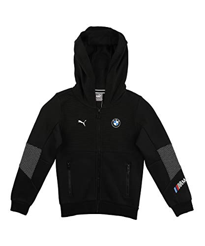Puma - Chaqueta de chándal para BMW M Motorsport Youth Puma, color negro 116