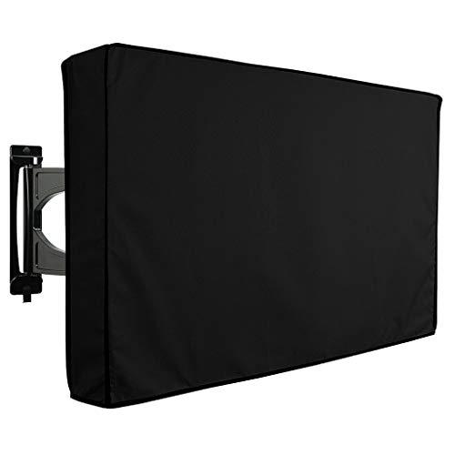 JINJIN Outdoor TV Cover, Weerbestendige Universele Beschermer voor LCD, LED, Plasma Televisie Schermen. 360 graden bescherming met bodemafdichting en zachte voering. Compatibel met Standard Mounts, 46- 48inch/29*46.5*5 inches