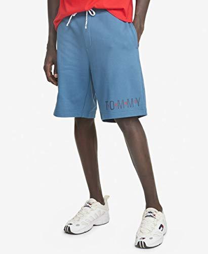 Tommy Hilfiger Bermuda masculina THD Sweat, Azul marcial, M