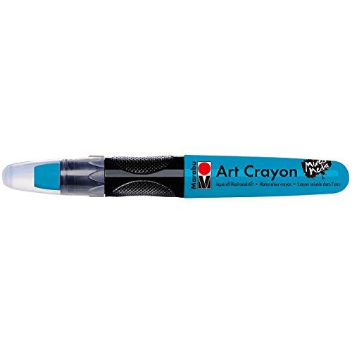 Marabu 01409003098 Creative Art Crayons, Blue