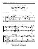 Carlyle Sharpe: Hear My Cry, O God