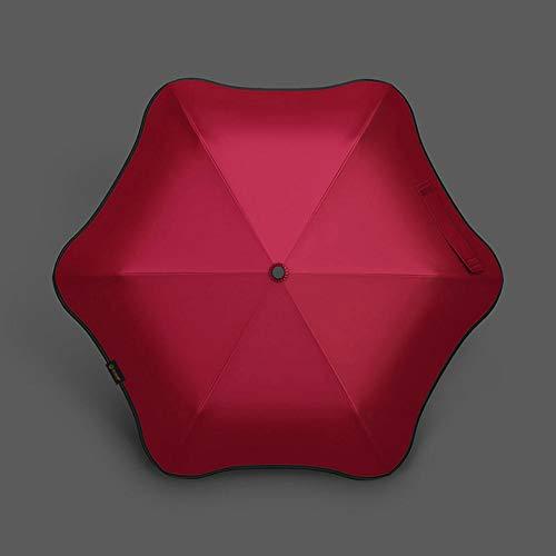 ASDMRQ paraguas, paraguas plegable portátil, paraguas a prueba de lluvia, paraguas plegable al aire libre, paraguas plegable de viaje