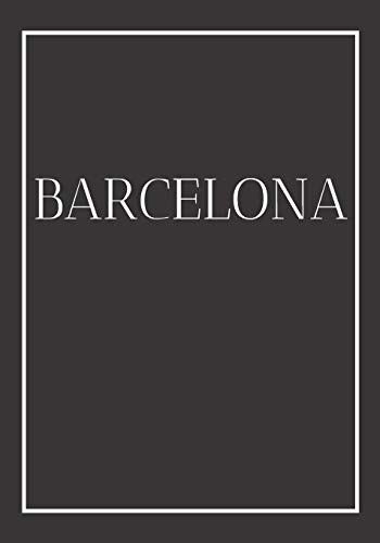 Barcelona: A decorative book for coffee tables, end tables, bookshelves and interior design styling: Stack Spain city books to add decor to any room. ... home or as a modern home decoration gift.: 6