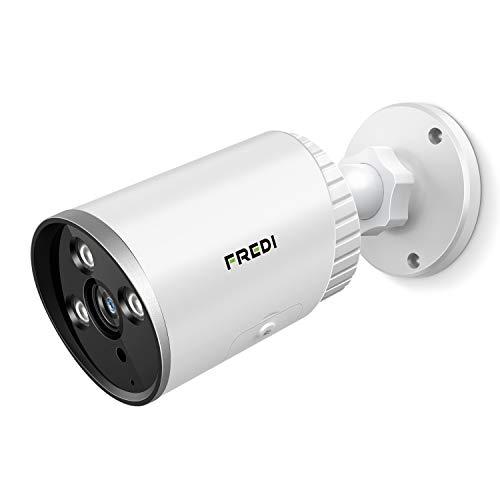 Cámara de vigilancia exterior HD FREDI 3 MP WiFi IP cámara exterior IP66 exterior resistente al agua cámara de seguridad infrarroja visión nocturna detección de movimiento