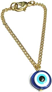 The Bling Stores Evil Eye Watch Charm Jewellery, Valentine Gift for Women & Girls Jewellery for Gift (Pack of 1))