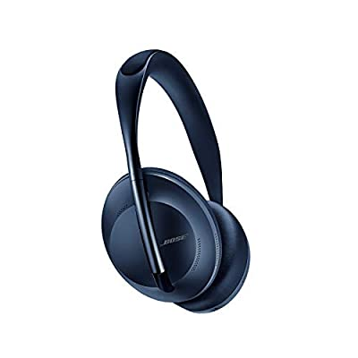 Bose Noise Cancelling Wireless Bluetooth Headphones 700 with Alexa Voice Vontrol—Triple Midnight from BOSE