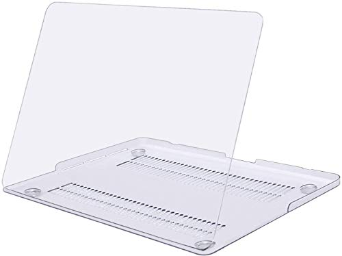 MOSISO Plastic Hard Shell Case Snap On Cover Only Compatible with MacBook Pro 15 inch Case with Retina Display (Model: A1398, Older Version, 2015 - end 2012 Release), Clear