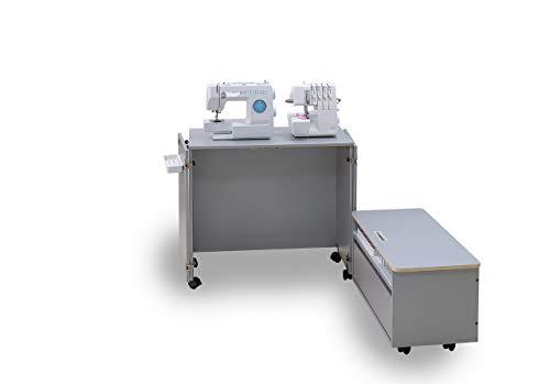Comfort NEXT | Mueble para máquina de coser | Armario de costura | (Beech Ellmau)