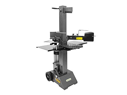 The Handy THPLS8TE - Divisor de troncos eléctrico vertical con cierre y protector de seguridad, 3000 W, 8 toneladas de presión, 2 años de garantía