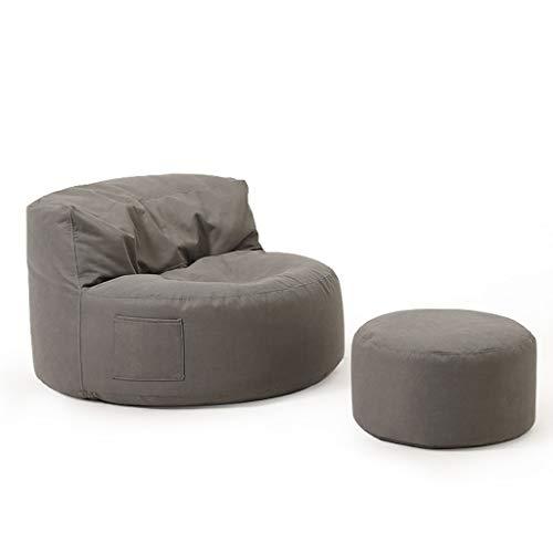 SD Bean Bag Chaise/canapé/Sige Inclinable/Confortable/avec Repose-Pied/Trois Couleurs/pour Enfants et Adultes/Convient pour intérieur et extérieur/85 * 55 * 35mm