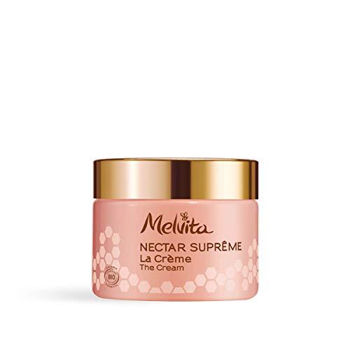 Melvita - Crème Anti-Age Global Certifié Bio Nectar Suprême - Crème Naturelle à 99%, Formule Brevetée Haute Efficacité - Soin Jeunesse de la Peau, Écl