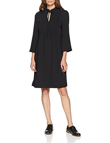 Preisvergleich Produktbild Daniel Hechter Damen Dress Kleid,  Schwarz (Jet Black 990),  40
