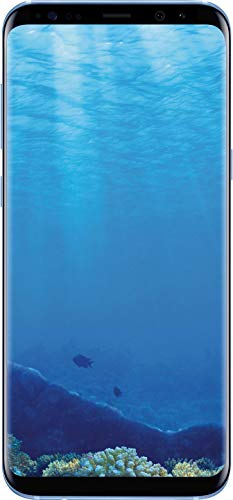 "Samsung Galaxy S8+ 64GB Unlocked Phone - 6.2"" Screen - International Version (Coral Blue) (Renewed)"