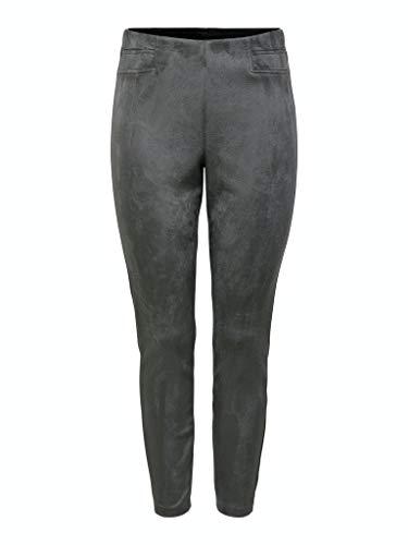 ONLY Damen ONLFLORENCE Faux Suede Leggings OTW Jeans, December Sky, 34