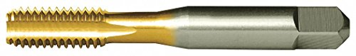 """CLEVELAND Straight Flute Tap, Thread Size 7/16""""-20, UNF, Bottoming, Overall Length 3.1600"""""""