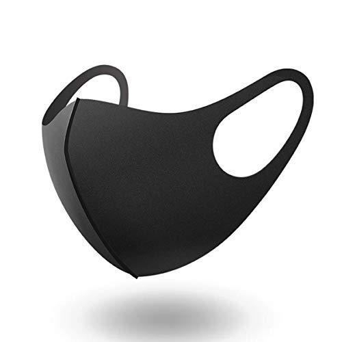 sys2sell Masken 5er Pack Set Unisex Behelfsmaske Mundschutz Mund- und Nasenschutz aus 100% Baumwolle oder hochwertigem Nanofaser (Nanofaser)