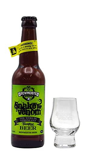 Brewmeister - Snake Venom World's Strongest Beer & FREE Branded Glass -...