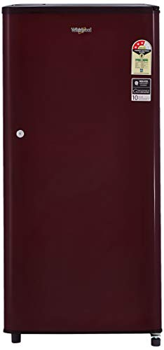 Whirlpool 190 L 3 Star Direct-Cool Single Door Refrigerator (WDE 205 CLS 3S, Wine)